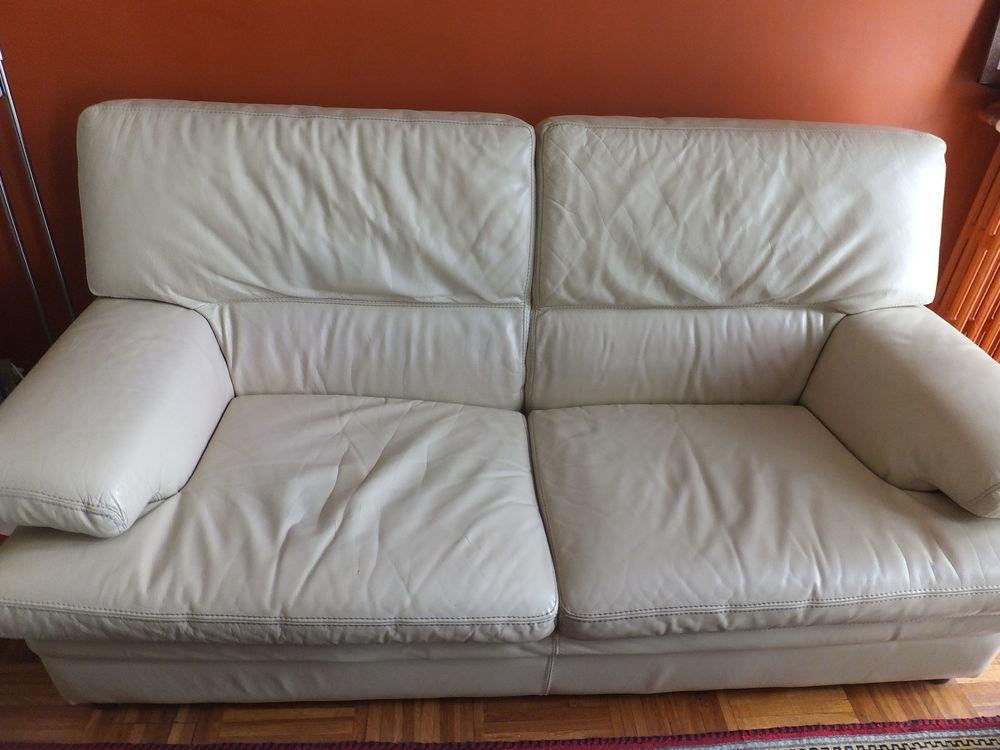 Canapé cuir 225 Pantin (93)