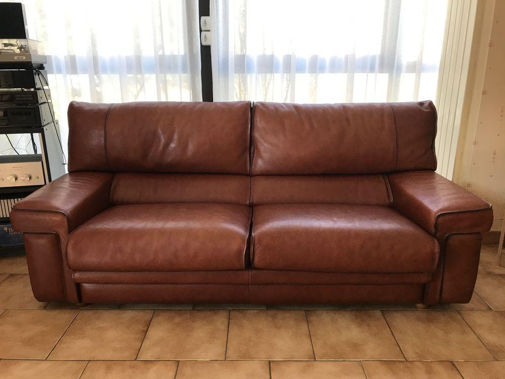 canapé cuir 800 Angers (49)