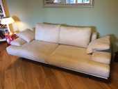 Canapé design  Poltrone Sofa  rendu cuir blanc 850 Lyon 7 (69)
