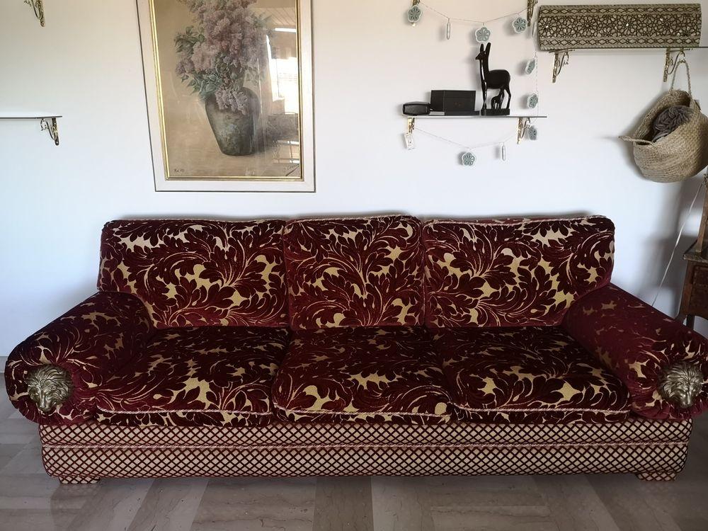 Canapé design tissu et velours. 3500 Cagnes-sur-Mer (06)