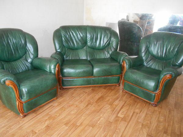 Canap s occasion la fl che 72 annonces achat et vente for Canape et deux fauteuils