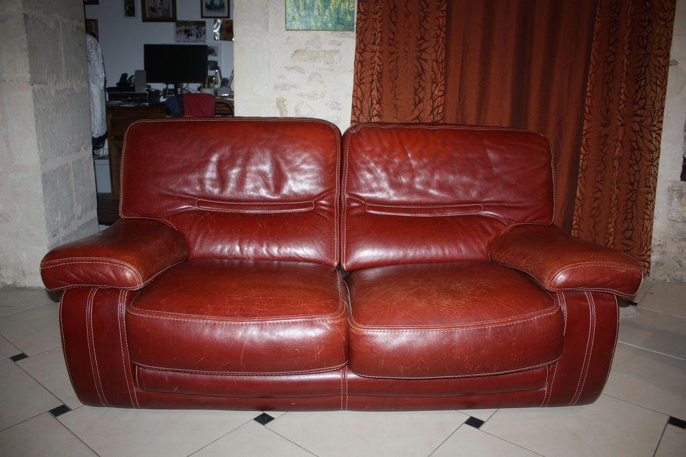 canapé et ses deux fauteuils cuir 650 Montreuil-Bellay (49)