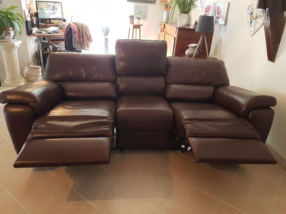 Canapé électrique cuir 900 Le Blanc (36)