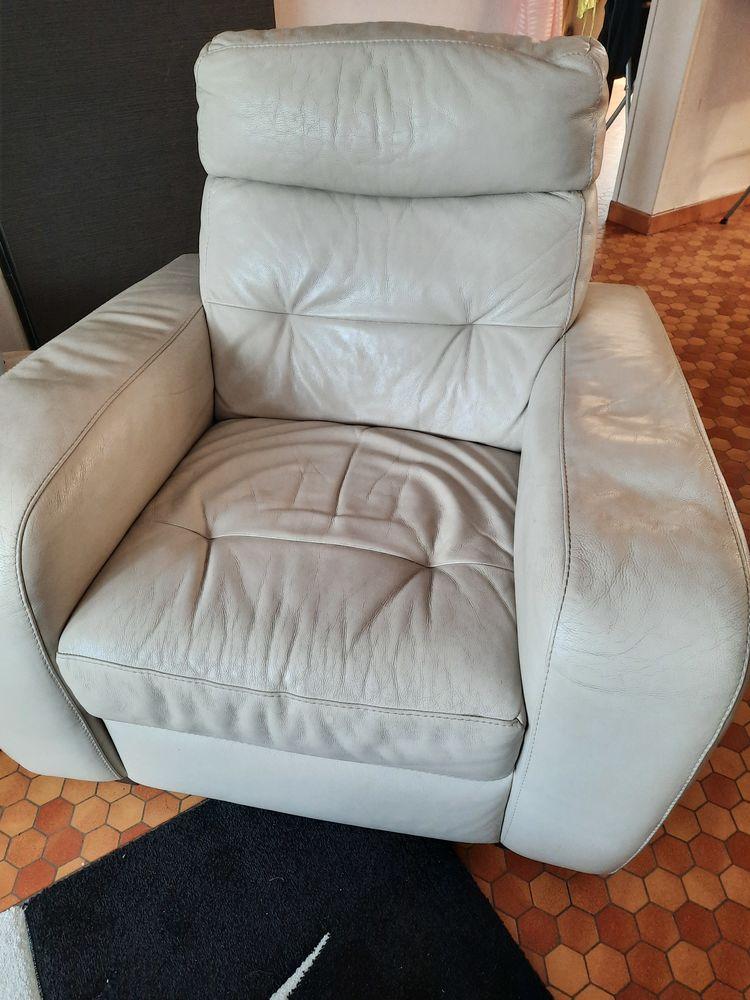 canapé électrique pouf et fauteuil cuir 500 Wasquehal (59)
