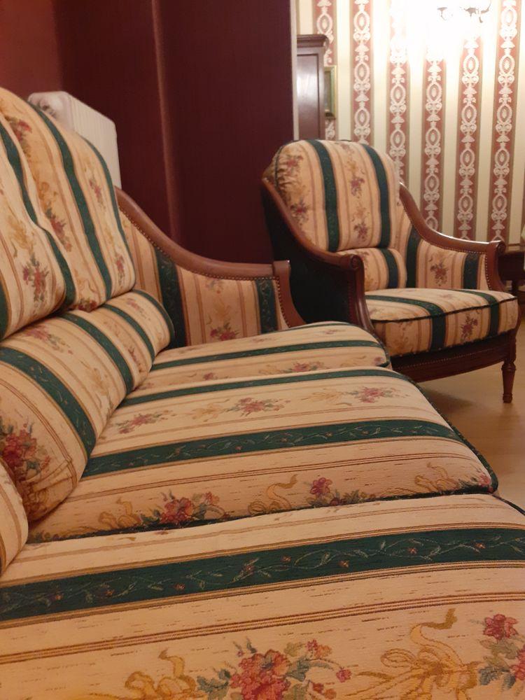 Canapé + fauteuil en merisier massif  800 Étampes (91)