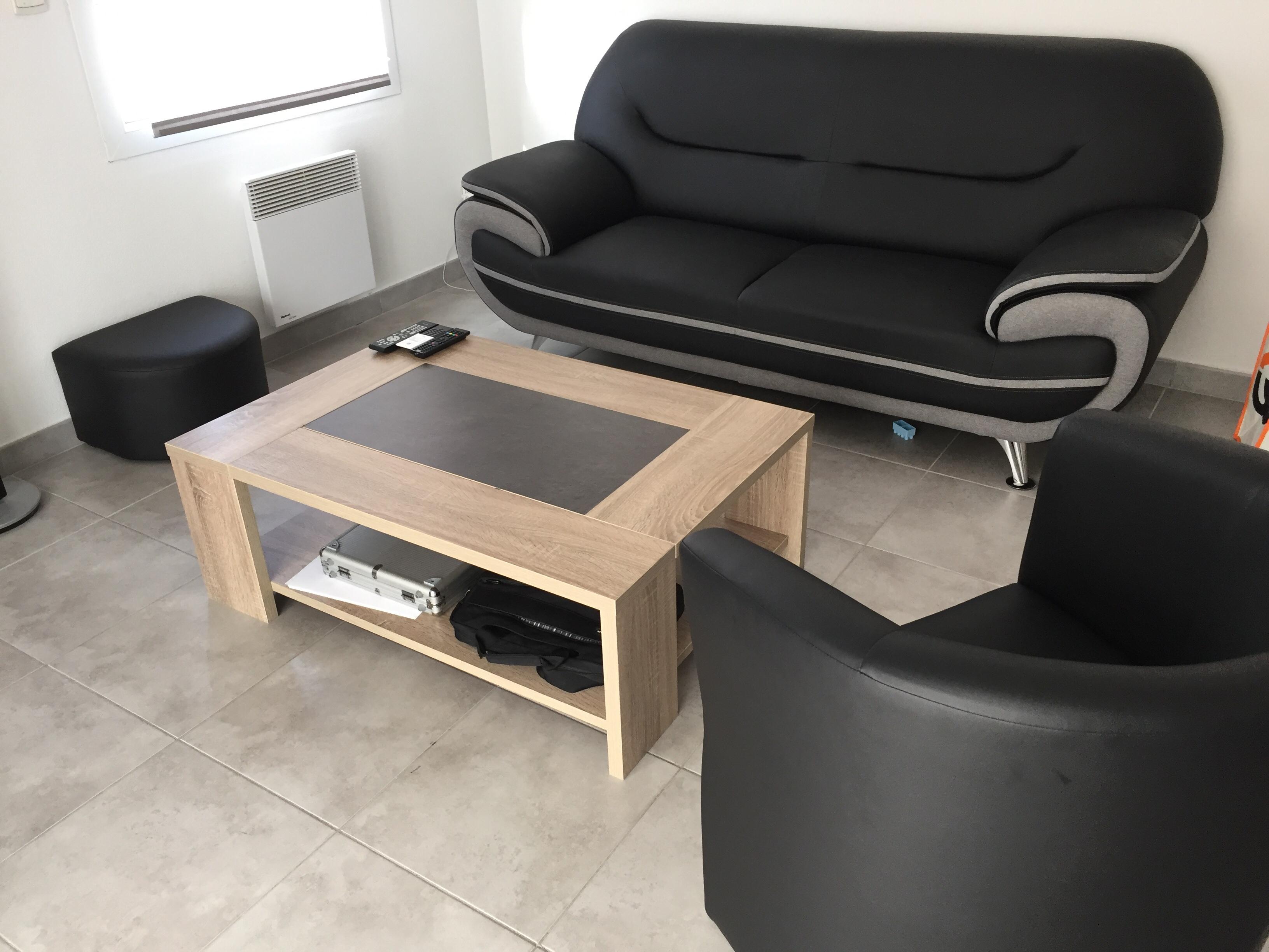 canapé fauteuil et pouf 250 Perpignan (66)