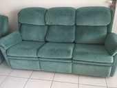 Canapé 3pl. Et fauteuil relax microfibre  0 Valleiry (74)