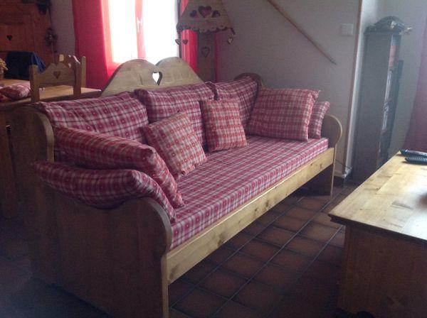 Achetez canape et fauteuil occasion annonce vente beaumont l s valence 26 - Meuble savoyard occasion ...