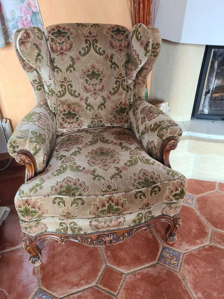 canape et fauteuil velours 30 Mézières-sur-Issoire (87)