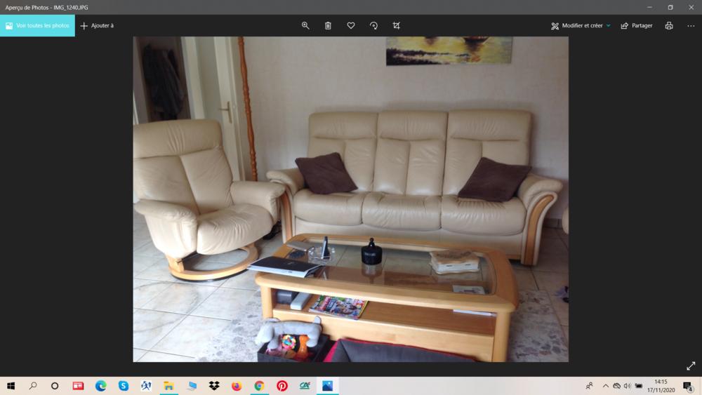 canapé + fauteuil 300 Pontcarré (77)