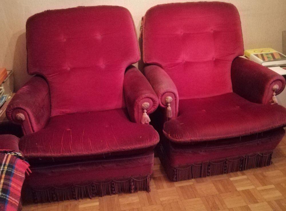 Canapé et fauteuils années 80 150 Chauny (02)