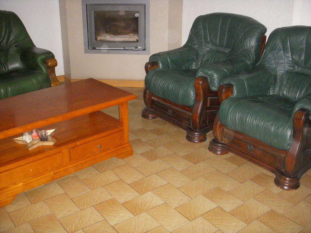 Canapé + 2 fauteuils en cuir 500 Lanester (56)