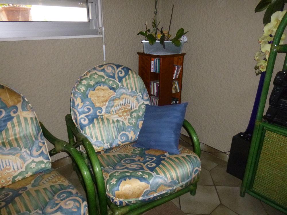 canapé fixe + 2 fauteuils assortis 125 Bordeaux (33)