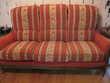 Canapé fixe en velours