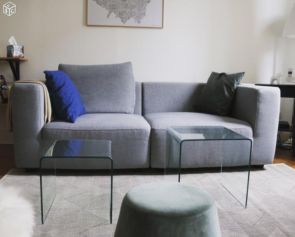 canap s gris occasion vendenheim 67 annonces achat et vente de canap s gris paruvendu. Black Bedroom Furniture Sets. Home Design Ideas
