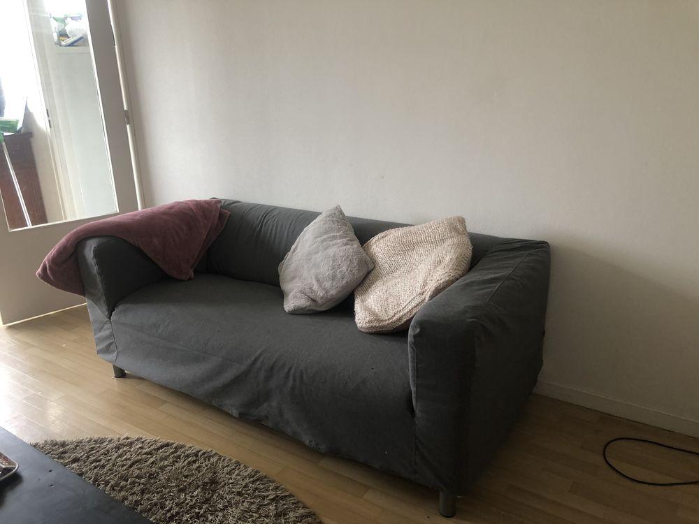 Canapé IKEA gris  60 Lille (59)