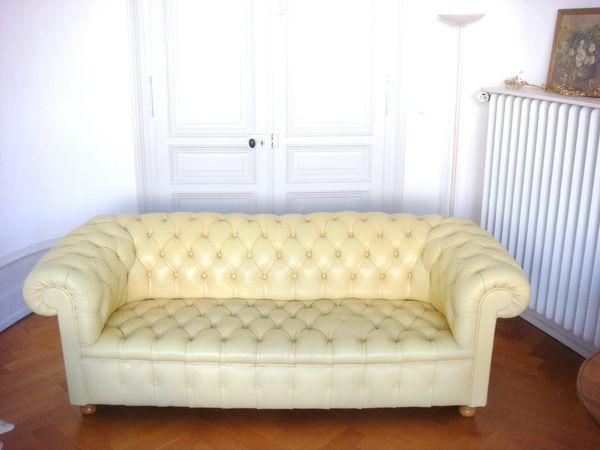 canap s chesterfield occasion dans le bas rhin 67 annonces achat et vente de canap s. Black Bedroom Furniture Sets. Home Design Ideas