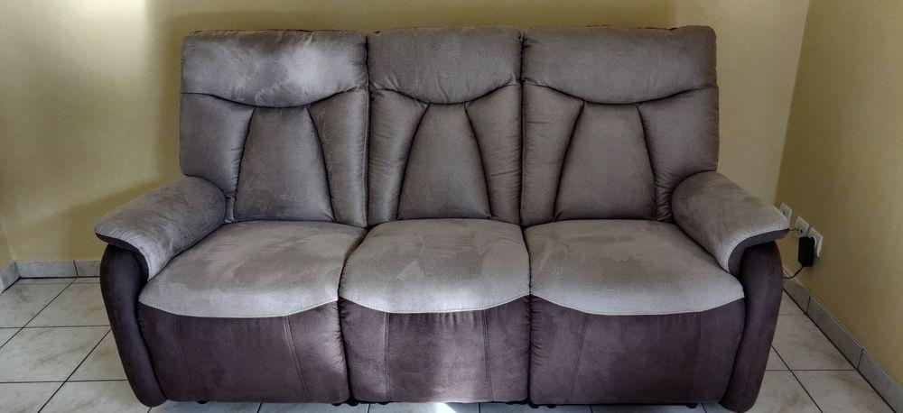 Canapé LUGO 3 places en tissu avec relax électrique DR et GA 700 Léry (27)