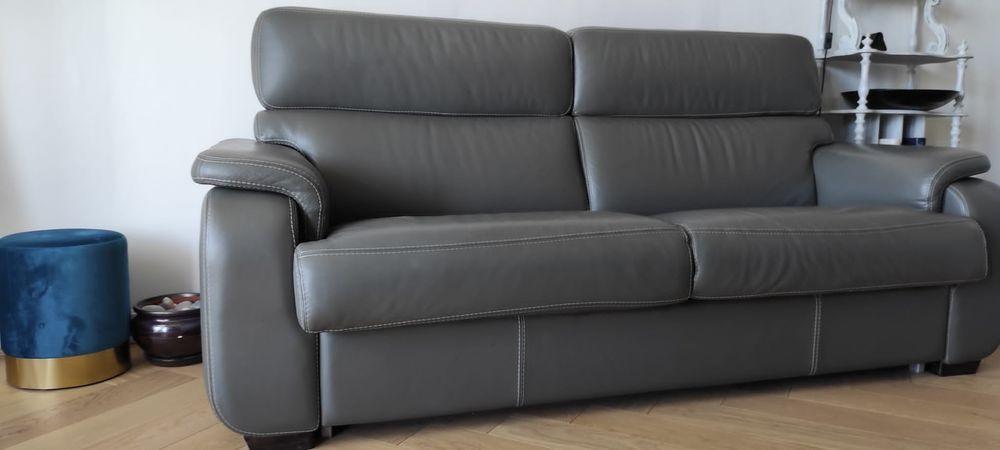 Canapé lit de marque CUIR CENTER 1200 Deuil-la-Barre (95)