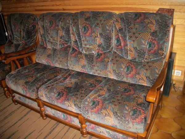 canapè 3 places avec 2 fauteuils 100 Loctudy (29)