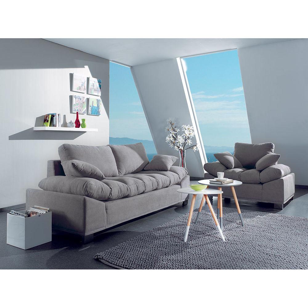 Canapé 3 places cocktail scandinave + son fauteuil  0 Massy (91)