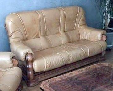 Canapé 3 places cuir  0 Roche-la-Molière (42)