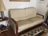 Canapé 3 places + fauteuil électrique et son repose pied 0 Boulogne-Billancourt (92)
