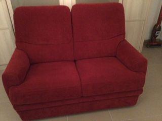 Canapé 2 places + fauteuil assorti. 500 Dinan (22)