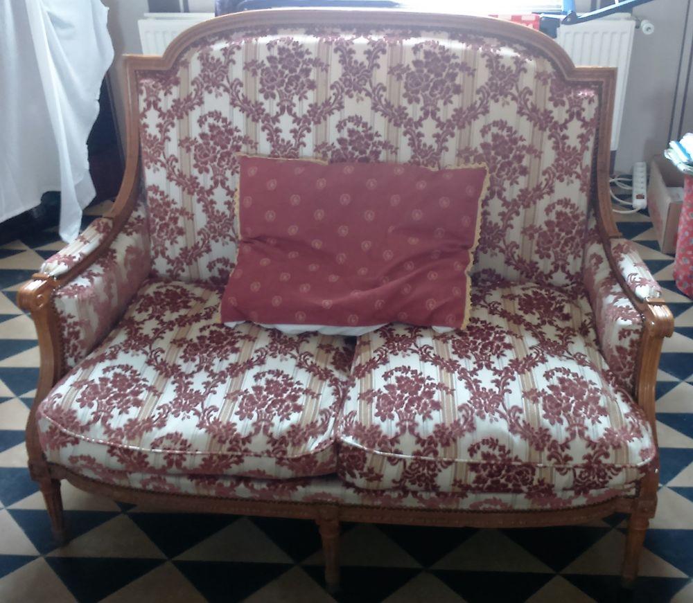 Canapé 2 places + 3 fauteuils style Louis XV 800 Wandignies-Hamage (59)