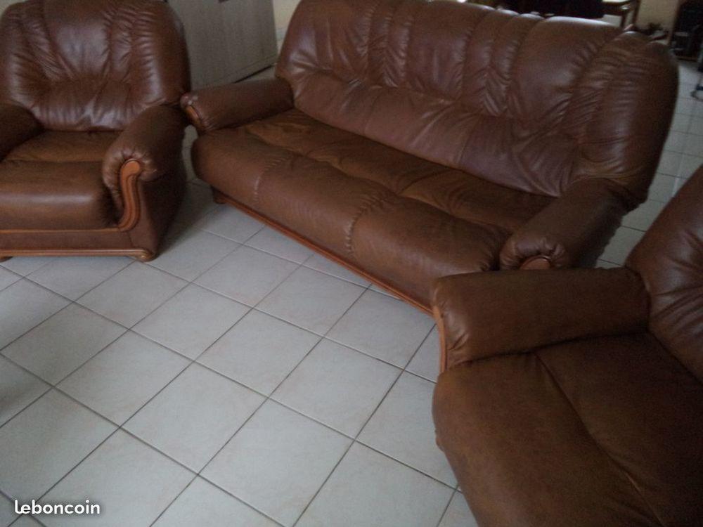 Canapé 3 places + 2 fauteuils Meubles