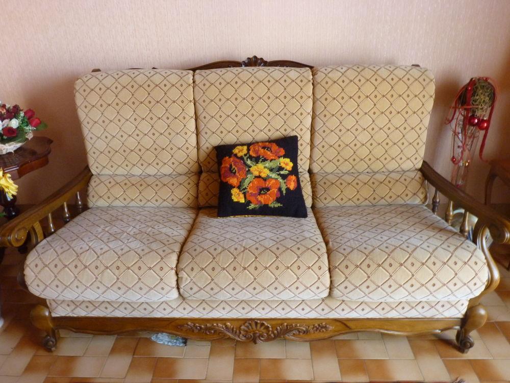 Canapé 3 places + 2 fauteuils 140 Château-d'Olonne (85)