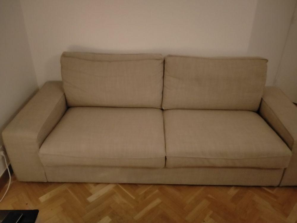 Canapé 3 places IKEA moelleux Très bon état  Facture  169 Nogent-sur-Marne (94)