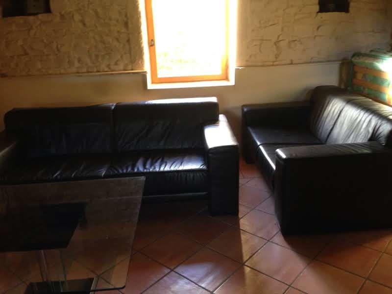 Achetez canape 3 places noir occasion annonce vente for Vendeur canape