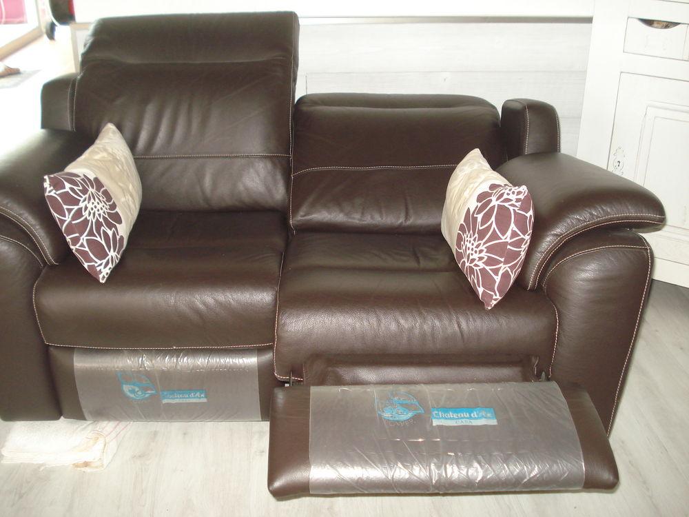 Canapé 2 places relax électrique 450 Lassay-les-Châteaux (53)