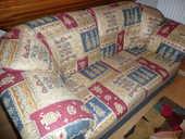 1 canapé 2 places en tissu de couleur 160 Berck (62)
