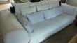 Canapé 4 places tissu beige