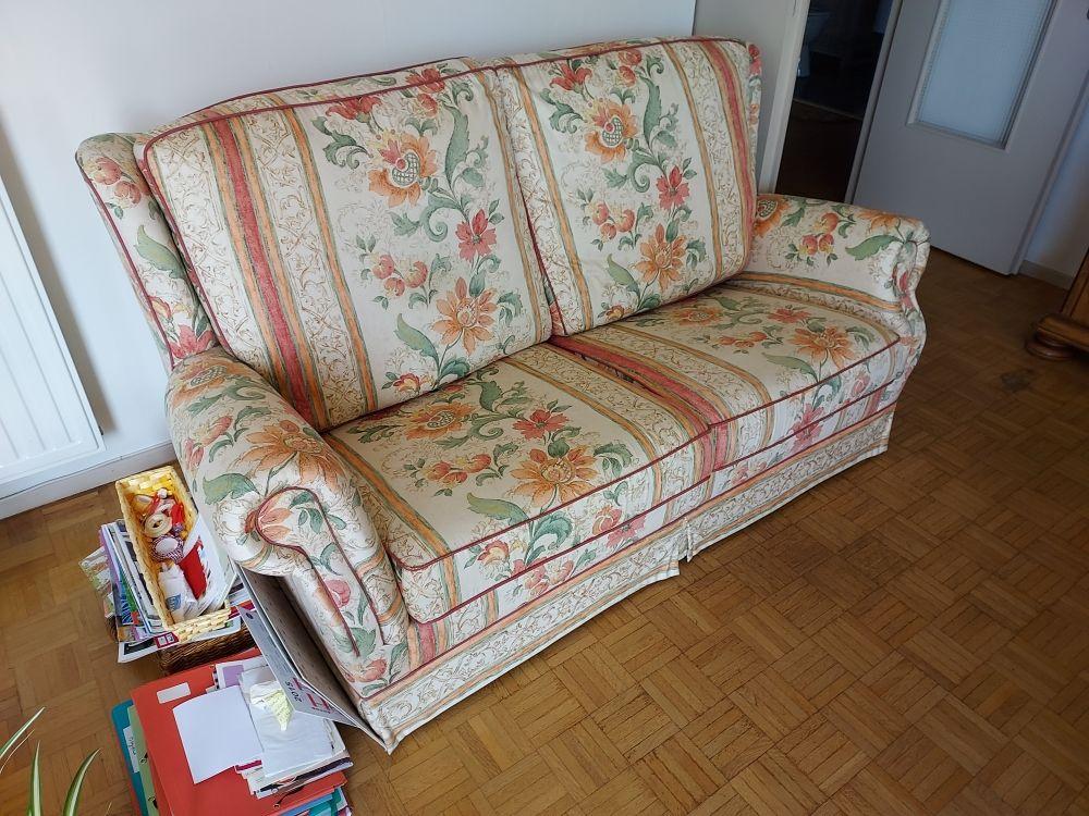 canapé lit 2 places en tissu 150 Béziers (34)