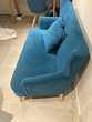 Canapé 2 places en velours Meubles