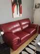 Canapé plus fauteuil cuir de très bonne qualité Meubles
