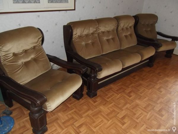 Achetez canape plus occasion annonce vente capdenac gare 12 wb152703571 - Canape plus fauteuil ...