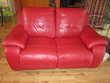 Canapé relax électrique 2 places rouge 700 Bellegarde-sur-Valserine (01)