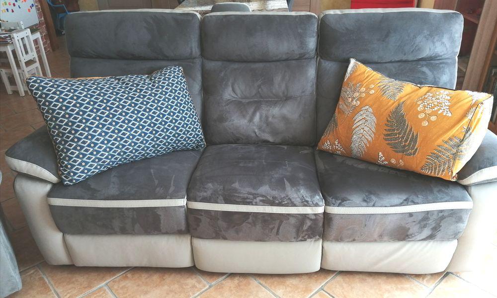 Canapé relax 3 places quasi neuf  0 Pontarion (23)