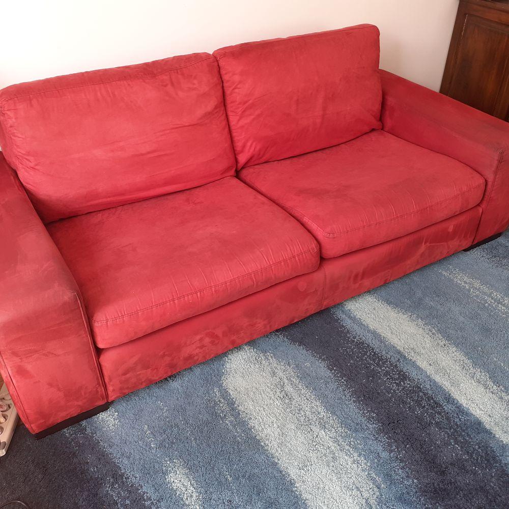 Canapé lit Roche Bobois rouge 160 Asnières-sur-Seine (92)