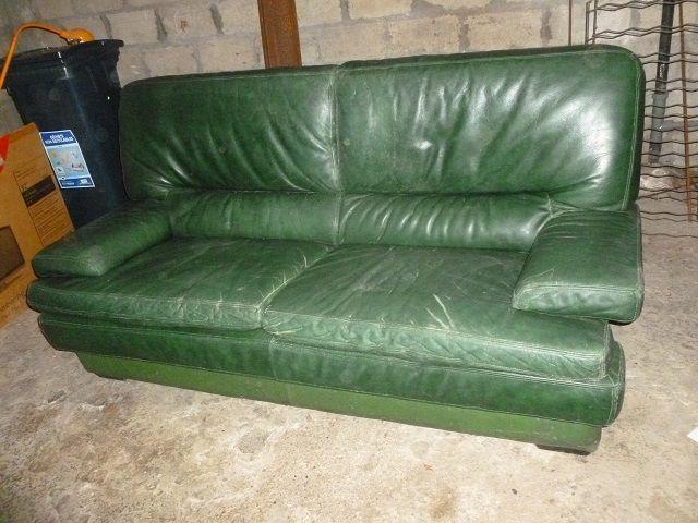 Canapé en simili cuir  0 Caudan (56)