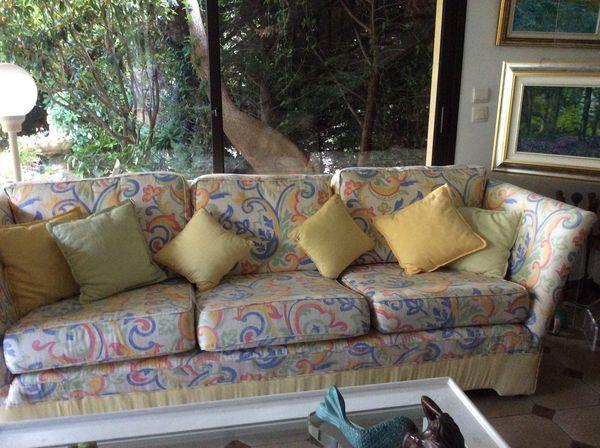 Canape tissu  Avec 2 fauteuils 0 La Turbie (06)