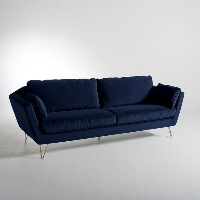 Achetez canap velours bleu neuf revente cadeau annonce vente bordeaux - Canape velours bordeaux ...