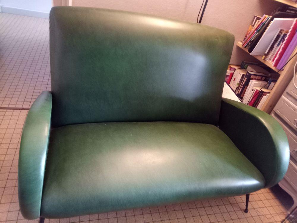 Canapé vintage vert  0 Orthez (64)