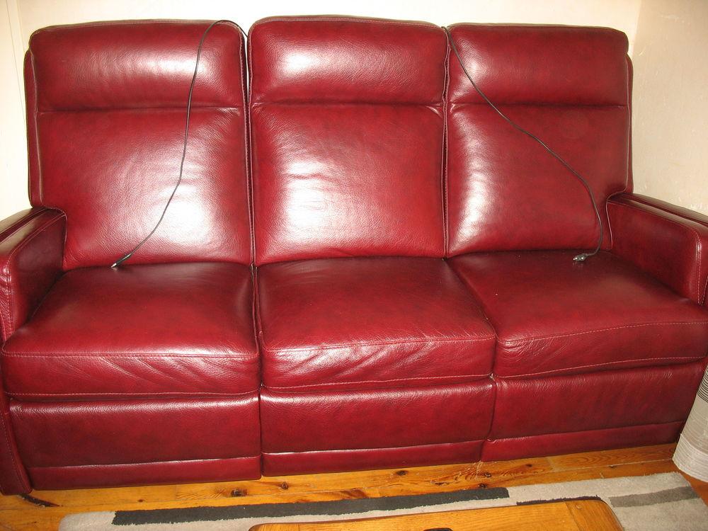 canapés relax  cuir Buffle  CHATEAU D'AX  800 Vif (38)
