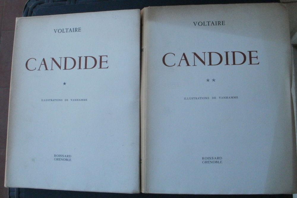 CANDIDE PAR VOLTAIRE en 2 tomes et illustrations de VANHAMME Livres et BD