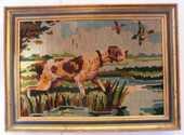 Canevas chien de chasse L 37 cm X H 28 cm 20 Le Crès (34)